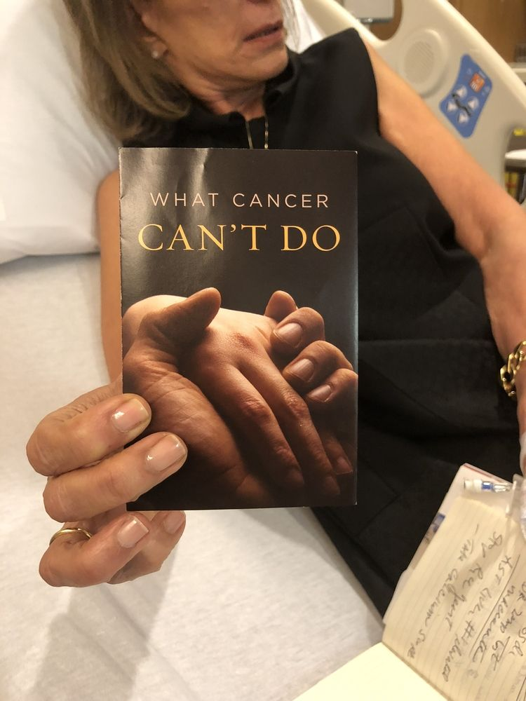 She Beat Ovarian Cancer Twice, But Remains On Chemotherapy