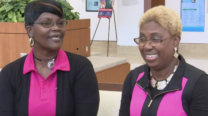 The friends are fighting breast cancer diagnosis together