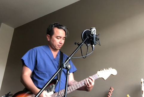 Houston doctors team up for song about staying home during COVID-19 pandemic