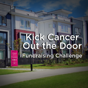 Kick Cancer Out the Door Pink Door Fundraising Challenge