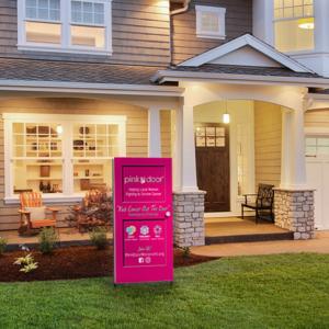 Kick Cancer Out the Door Pink Door Fundraising Challenge