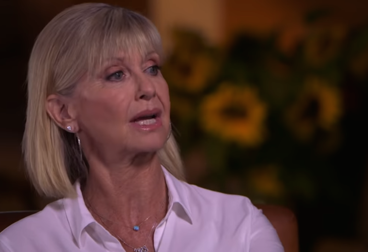 Olivia Newton-John discusses happiness while living with cancer