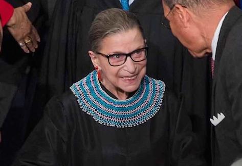 Ruth Bader Ginsburg, the cancer survivor